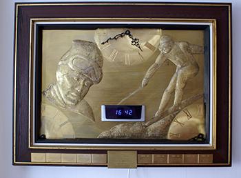 Stenmark-klocka av Albin Schaeder